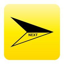 Arrow Web Button Royalty Free Stock Photography