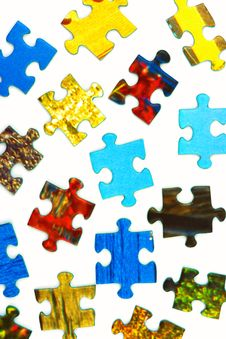 Free Pieces Of Puzzle Stock Photo - 8967350