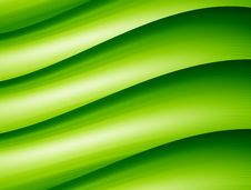 Free Green Waves Royalty Free Stock Photos - 8967758