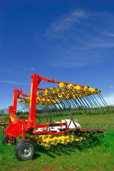 Free Grass Harrow Stock Photography - 8967832