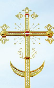 Free The Orthodox Cross Royalty Free Stock Photography - 8967907