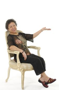 Free Asian Senior Women Royalty Free Stock Image - 8968036