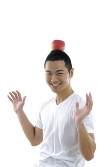 Asian Man Royalty Free Stock Image