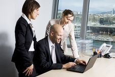 Businessteam Royalty Free Stock Images