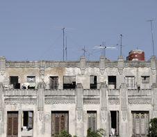 Free Havana Building Detail Stock Image - 8968851