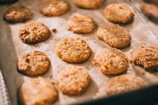Free Homemade Cookies Stock Image - 89634371