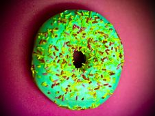 Free Wonderful Sprinkle Doughnut Royalty Free Stock Photos - 89634388