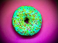 Free Wonderful Sprinkle Doughnut Royalty Free Stock Photos - 89634428