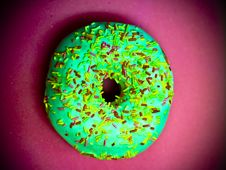 Free Wonderful Sprinkle Doughnut Royalty Free Stock Photos - 89634468