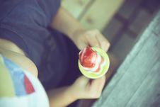 Free Child Lick Handmade Ice Cream Royalty Free Stock Photos - 89634498