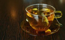 Free Glass Cup Of Tea Royalty Free Stock Photos - 89635858