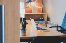 Free Office Desk Royalty Free Stock Photography - 89636827