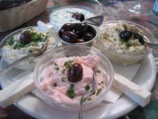 Free Great Greek Food At Maria S Taverna On 4th Royalty Free Stock Photography - 89690227
