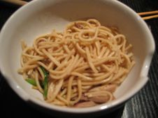 Free Barb S Cooking - Lo Mein W/BBQ Pork And Cauliflower W/bacon Royalty Free Stock Image - 89690266