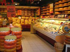 Free Cheese Shop At Rotterdam Mall, Ted S Alfa Romeo, Rijstafel Royalty Free Stock Photo - 89690525