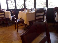 Free Adesso Bistro - A Peek At The Interior And The Decor And The Ambiance Stock Photography - 89690802