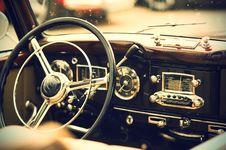 Free Vintage Auto Interior Stock Photos - 89693013
