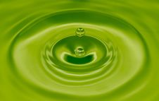 Free Water Drop With Ripples Royalty Free Stock Photo - 89693635