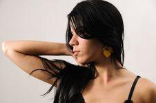 Free Hispanic Beauty Portrait Royalty Free Stock Image - 8970476