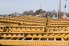 Free Steel Construction Girders Royalty Free Stock Image - 8970606