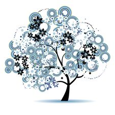 Free Art Tree Beautiful For Your Design Stock Photography - 8970722