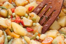 Free Cooking Vegetables For Stew Stock Images - 8970754