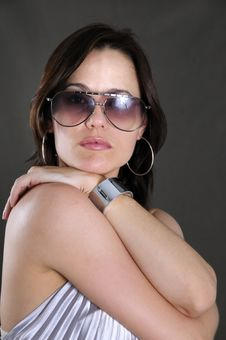 Sunglasses Fashion Stock Photo
