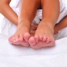 Free Feet And SPA Royalty Free Stock Images - 8971749