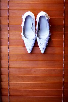 Free Bridal Shoe Royalty Free Stock Photos - 8971968