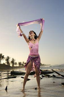 Free Fresh Summer Girl Stock Image - 8972061