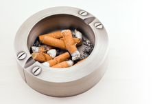 Free Full Ashtray Stock Photography - 8972722