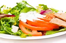 Free Salad Royalty Free Stock Photography - 8972947