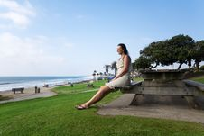 Free Relax In California Royalty Free Stock Photo - 8973035