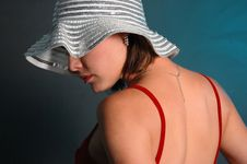Free Beauty In Hat Stock Photos - 8974743