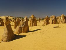 Free Pinnacles Desert Royalty Free Stock Photography - 8975037