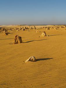 Free Pinnacles Desert Stock Photography - 8975242
