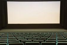 Free Cinema Interior Royalty Free Stock Photos - 8976038