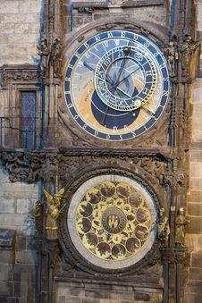 Free Astronomical Clock Royalty Free Stock Photography - 8976107