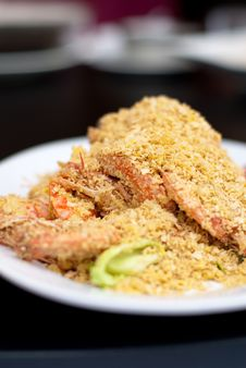 Seafood Dish Stock Photo