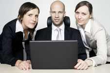 Businessteam Royalty Free Stock Photography