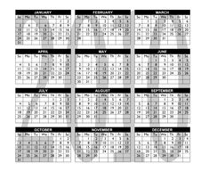 Free Calendar 2010 Stock Photography - 8978842