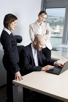 Businessteam Stock Photography