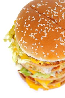 Free Hamburger Royalty Free Stock Image - 8978996