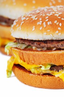 Free Hamburger Royalty Free Stock Photography - 8979107