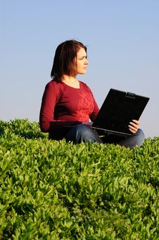 Free Girl With Notebook Stock Photo - 8979500