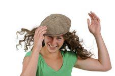 Free Teenage Girl In Ivy Cap Stock Image - 8979701