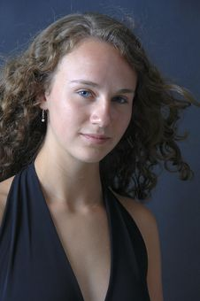 Free Beautiful Teenage Girl Isolated Stock Images - 8979734