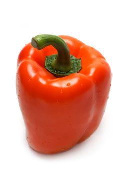 Free Orange Bulgarian Pepper Part Two Royalty Free Stock Photo - 8979995
