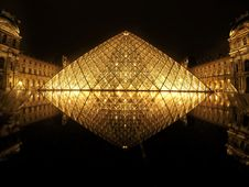Free Louvre Pyramid Stock Photo - 89742450