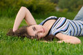 Free Beautiful Girl On Grass Stock Photo - 8983290